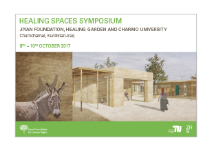Healing Spaces Symposium